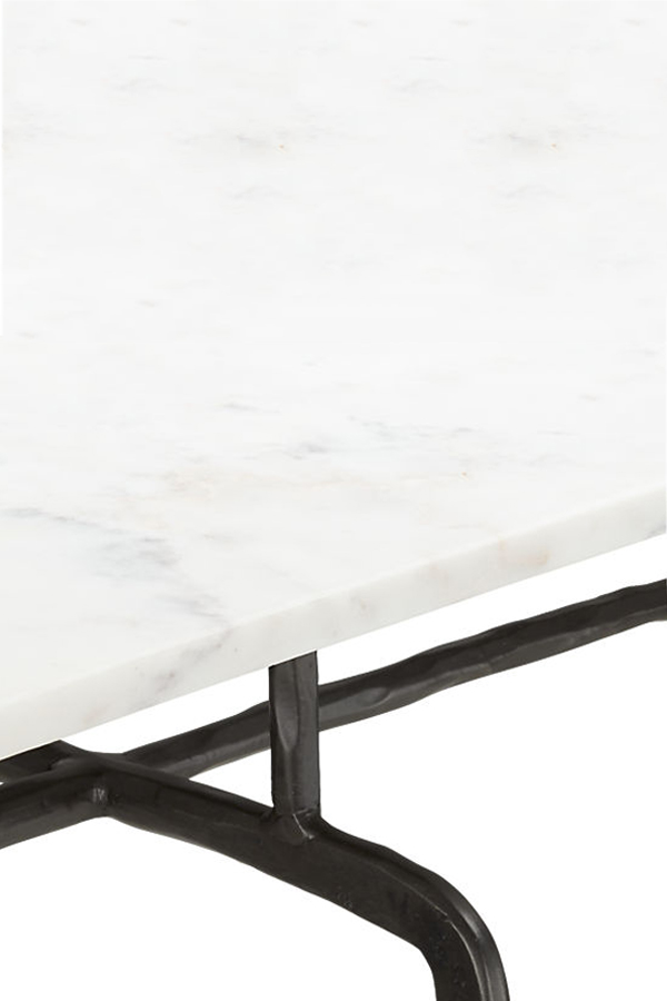alice marble console table