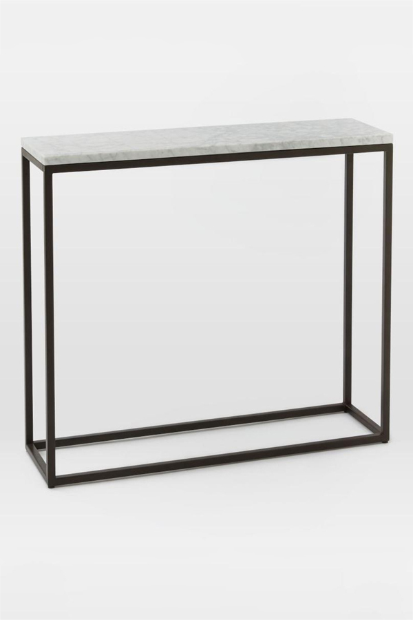 Box Frame Marble Top Console Table - Lexiang