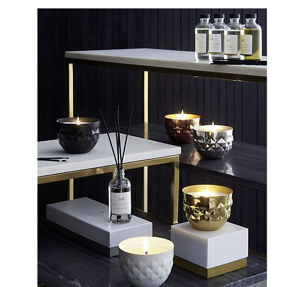 iris 2 tone marble top side table