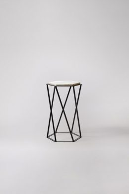 kay modern marble side table