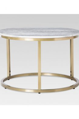 lexiang small coffee table with marble top