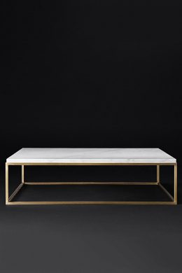 nicholas marble square coffee table