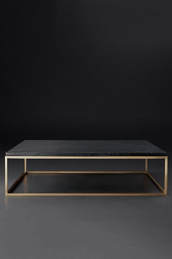 nicholas marble square coffee table