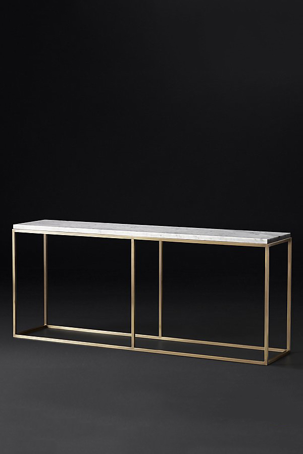 Nicholas Marble Top Console Table Lexiang