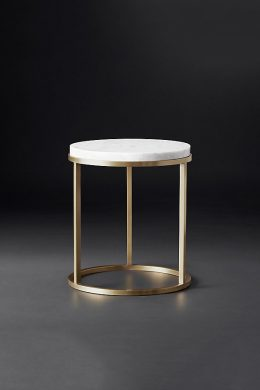 nicholas round marble bedside table