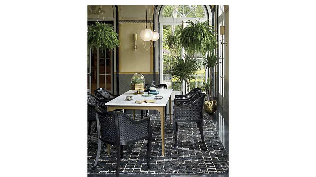 Paradigm Marble Dining Room Table Lexiang - Cb2 dining room table