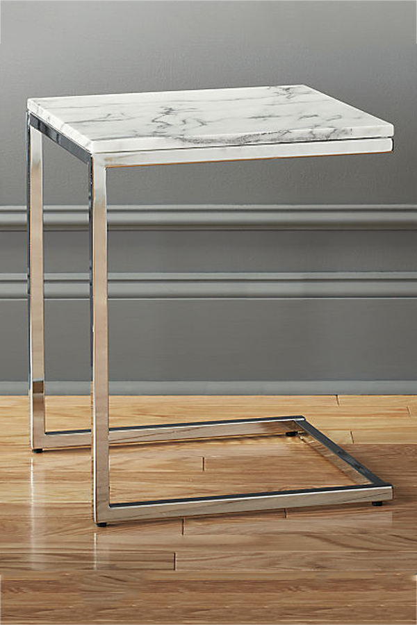 Small Marble C Side Table