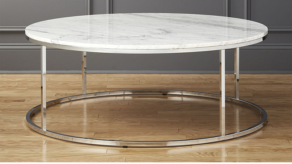 Small Round Marble Coffee Table