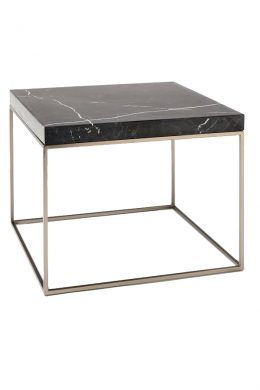 Black Marble Side Table MST040