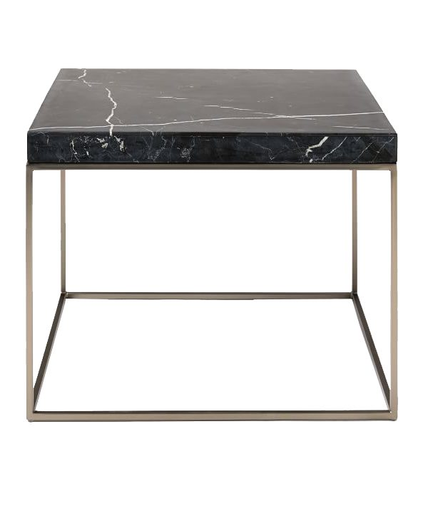 Black Marble Side Table MST040