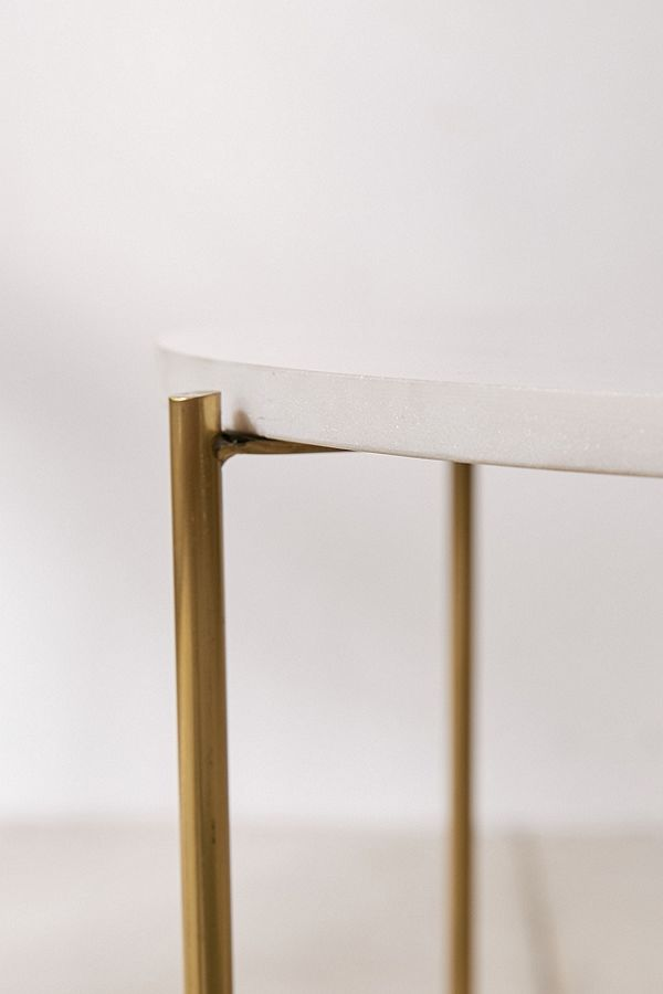 Marble Surface Side Table MST045