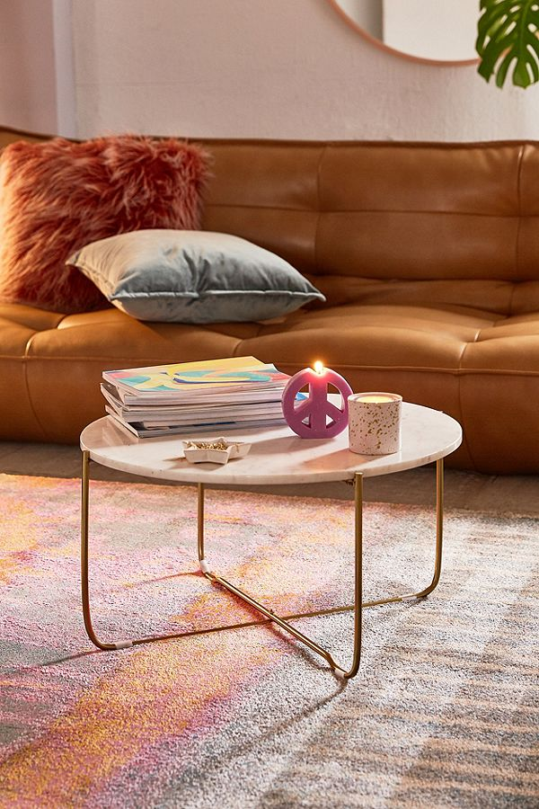 Marble Top Coffee Table MCT043