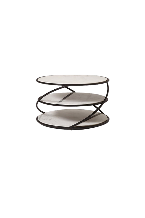 Three-tier Marble Coffee Table MCT044
