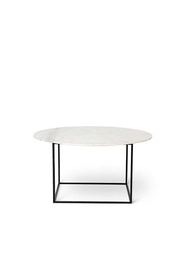 White Round Marble Coffee Table MCT028