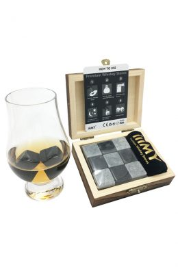 Mixed Color Granite Whiskey Stones Whiskey Ice Cubes-9