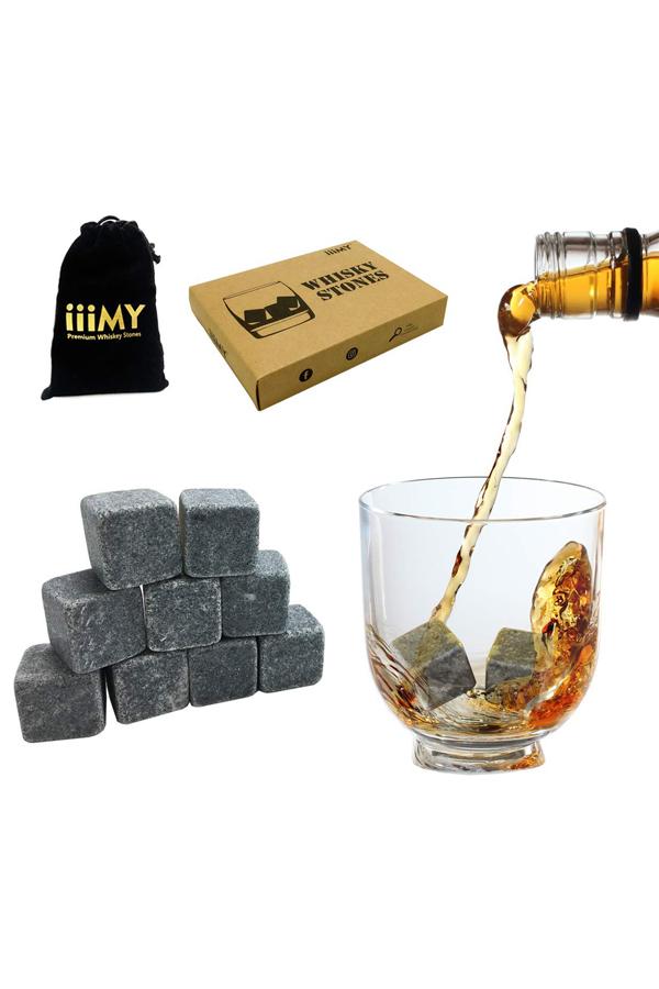 Granite Whiskey Ice Stones Whiskey Ice Cubes-3