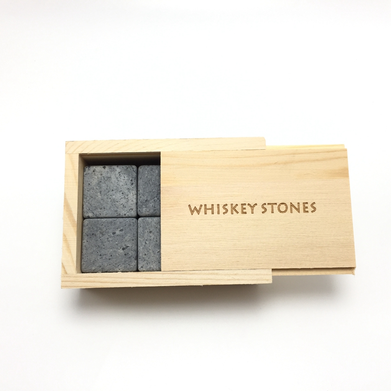 2018 Best Seller 20mm Granite Cube Whiskey Stones Promotional Gift-1