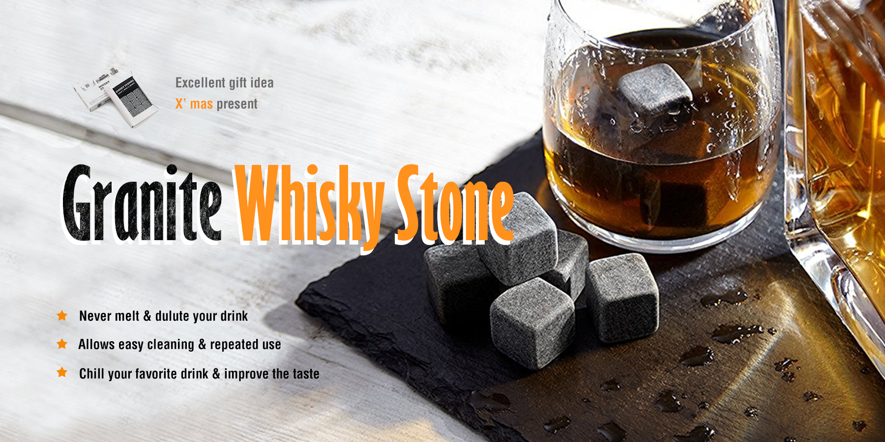 New Arrival Of Whiskey Stones